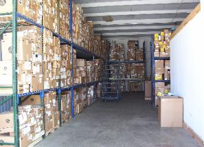 Ask about our warehousing capabilities.  We can deliver and we can store